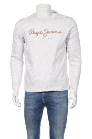Pánske tričko  Pepe Jeans, Veľkosť L, Farba Sivá, Bavlna, Cena  22,62€
