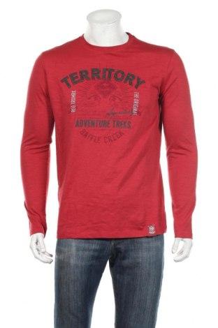 Ανδρική μπλούζα Roadsign, Μέγεθος M, Χρώμα Κόκκινο, Βαμβάκι, Τιμή 11,46€