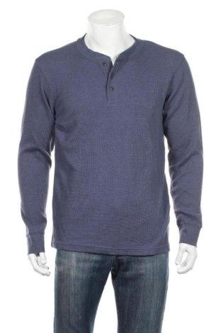 Pánske tričko  St. John's Bay, Veľkosť L, Farba Modrá, 60% bavlna, 40% polyester, Cena  10,21€