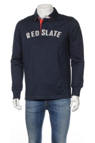 Ανδρική μπλούζα Think Pink, Μέγεθος L, Χρώμα Μπλέ, Βαμβάκι, Τιμή 39,46€