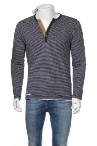 Ανδρική μπλούζα Tom Tailor, Μέγεθος M, Χρώμα Μπλέ, Βαμβάκι, Τιμή 16,55€