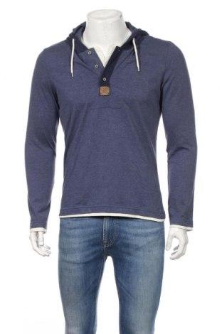 Bluză de bărbați Tom Tailor, Mărime L, Culoare Albastru, 60% bumbac, 40% poliester, Preț 78,91 Lei