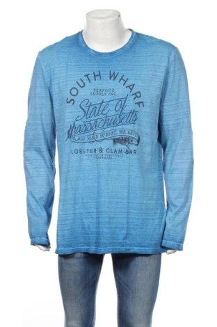 Pánske tričko  Tom Tailor, Veľkosť XXL, Farba Modrá, Bavlna, Cena  14,74€