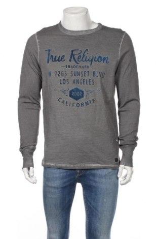 Ανδρική μπλούζα True Religion, Μέγεθος M, Χρώμα Γκρί, Βαμβάκι, Τιμή 23,55€