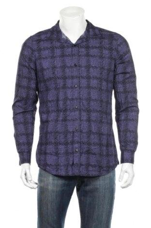 Pánska košeľa  Armani Exchange, Veľkosť L, Farba Fialová, Bavlna, Cena  18,89€