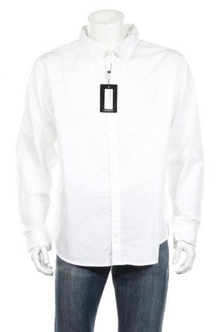 Pánska košeľa  Boohoo, Veľkosť XXL, Farba Biela, Bavlna, Cena  15,59€