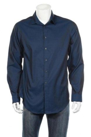 Pánska košeľa  Calvin Klein, Veľkosť L, Farba Modrá, Bavlna, Cena  18,89€