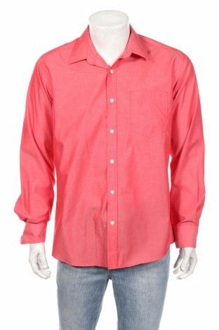 Мъжка риза Charles Vogele, Размер L, Цвят Червен, Цена 15,12лв.