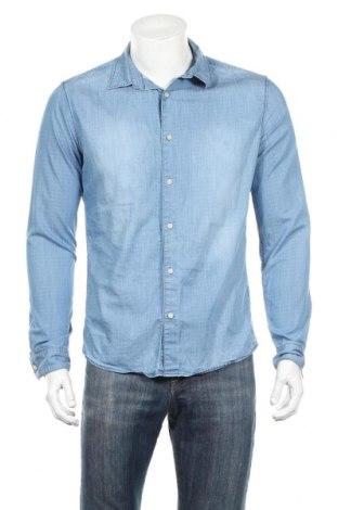 Pánska košeľa  Drykorn for beautiful people, Veľkosť M, Farba Modrá, 100% bavlna, Cena  25,56€