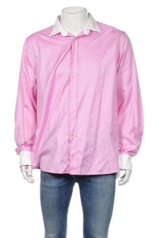 Cămașă de bărbați Etro, Mărime XL, Culoare Roz, 100% bumbac, Preț 233,97 Lei