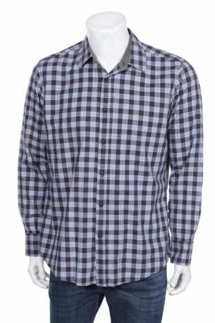 Мъжка риза Hugo Boss, Размер L, Цвят Многоцветен, Памук, Цена 47,33лв.