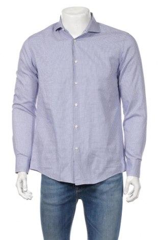 Pánska košeľa  Hugo Boss, Veľkosť M, Farba Modrá, 100% bavlna, Cena  26,68€