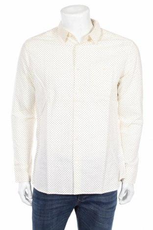 Pánska košeľa  Jack & Jones, Veľkosť L, Farba Kremová, Cena  18,19€