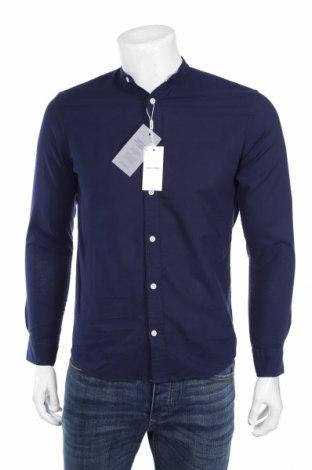 Pánska košeľa  Jack & Jones, Veľkosť XS, Farba Modrá, 74% bavlna, 26% ľan, Cena  18,19€