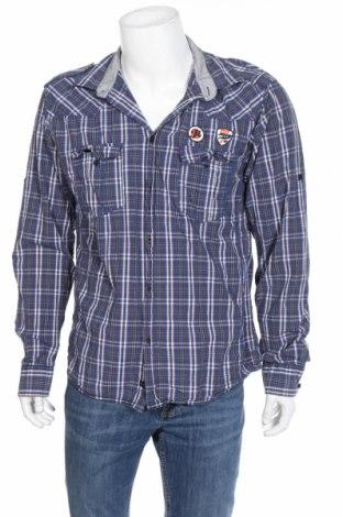 Ανδρικό πουκάμισο Jack & Jones, Μέγεθος XL, Χρώμα Πολύχρωμο, Βαμβάκι, Τιμή 6,07€