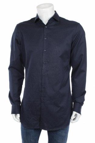 Pánska košeľa  Jake*s, Veľkosť L, Farba Modrá, Bavlna, Cena  26,80€