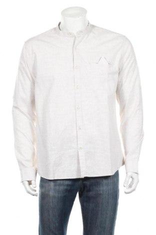 Мъжка риза LCW, Размер XL, Цвят Сив, Памук, Цена 14,96лв.
