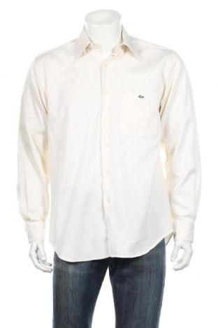 Pánska košeľa  Lacoste, Veľkosť M, Farba Béžová, Bavlna, Cena  15,56€