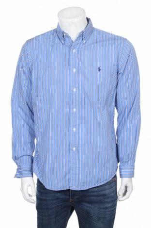 Pánska košeľa  Polo By Ralph Lauren, Veľkosť L, Farba Modrá, Bavlna, Cena  15,09€