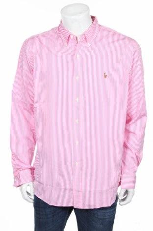 Pánska košeľa  Polo By Ralph Lauren, Veľkosť XL, Farba Ružová, Bavlna, Cena  18,32€