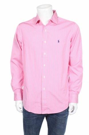Pánska košeľa  Polo By Ralph Lauren, Veľkosť L, Farba Ružová, Bavlna, Cena  17,23€