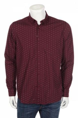 Мъжка риза Primark, Размер L, Цвят Червен, Памук, Цена 33,80лв.