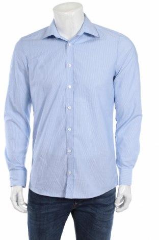 Мъжка риза Royal Class, Размер M, Цвят Син, 100% памук, Цена 16,07лв.