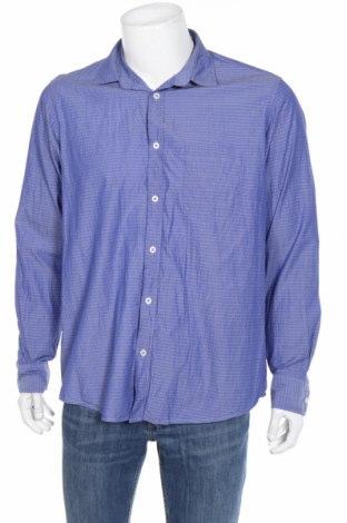 Мъжка риза Royal Class, Размер L, Цвят Син, Памук, Цена 18,95лв.