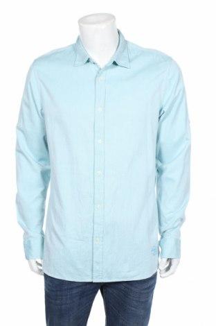 Pánska košeľa  Scotch & Soda, Veľkosť XL, Farba Zelená, Bavlna, Cena  15,56€