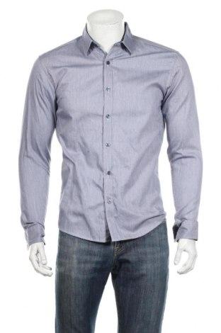 Мъжка риза Selected Homme, Размер M, Цвят Син, Памук, Цена 18,52лв.