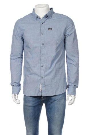 Pánska košeľa  Superdry, Veľkosť L, Farba Modrá, Bavlna, Cena  42,55€