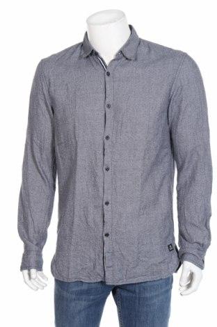 Мъжка риза Tom Tailor, Размер L, Цвят Син, Памук, Цена 27,78лв.