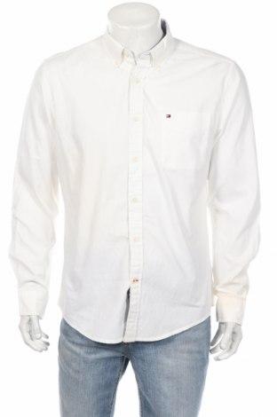 Ανδρικό πουκάμισο Tommy Hilfiger, Μέγεθος L, Χρώμα Λευκό, Βαμβάκι, Τιμή 56,64€