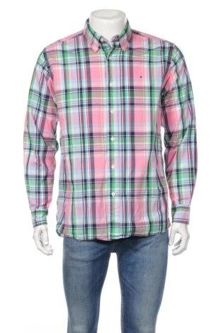 Pánska košeľa  Tommy Hilfiger, Veľkosť M, Farba Viacfarebná, Bavlna, Cena  15,09€