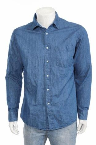 Pánska košeľa  Uniqlo, Veľkosť L, Farba Modrá, Bavlna, Cena  10,01€
