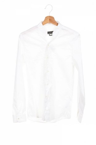 Pánska košeľa  Zara, Veľkosť M, Farba Biela, 78% bavlna, 19% polyamide, 3% elastan, Cena  23,71€