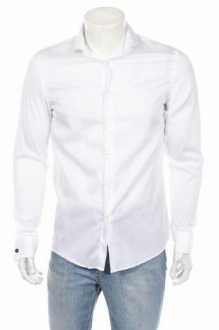Pánska košeľa  Zara, Veľkosť L, Farba Biela, 79% lyocell, 18% polyamide, 3% elastan, Cena  23,20€