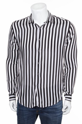 Pánska košeľa  Zara, Veľkosť M, Farba Čierna, Viskóza, Cena  17,07€