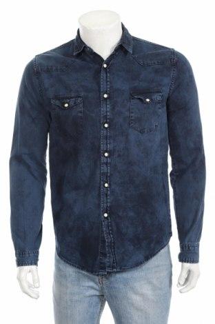 Pánska košeľa  Zara Man, Veľkosť M, Farba Modrá, Bavlna, Cena  9,45€