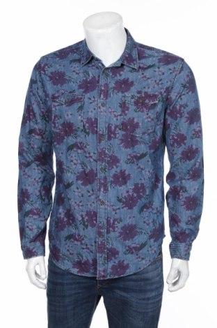 Pánska košeľa  Zara Man, Veľkosť L, Farba Modrá, Bavlna, Cena  11,31€