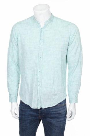 Pánska košeľa  Zen and Zen, Veľkosť M, Farba Zelená, 50% bavlna, 50% ľan, Cena  10,23€