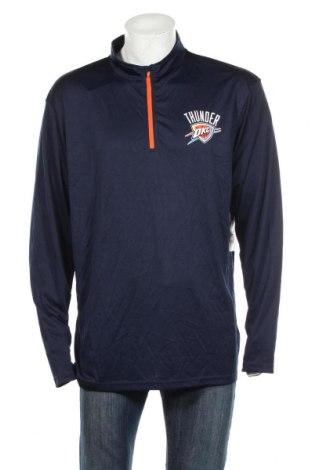 Мъжка спортна блуза Nba, Размер XXL, Цвят Син, Полиестер, Цена 33,92лв.