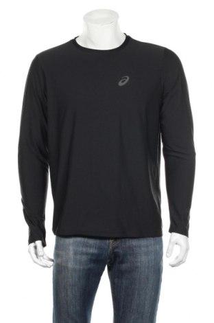 Ανδρική αθλητική μπλούζα ASICS, Μέγεθος L, Χρώμα Μαύρο, Τιμή 18,46€