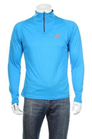 Pánske športové tričko  ASICS, Veľkosť M, Farba Modrá, Polyester, Cena  18,89€