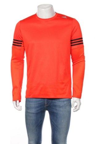 Мъжка спортна блуза Adidas, Размер M, Цвят Червен, Полиестер, Цена 37,91лв.