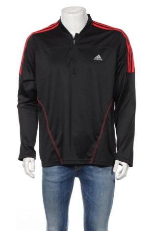 Мъжка спортна блуза Adidas, Размер XL, Цвят Черен, Полиестер, Цена 24,94лв.