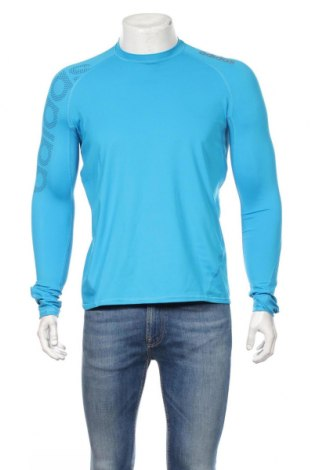 Pánske športové tričko  Adidas, Veľkosť L, Farba Modrá, 83% polyester, 17% elastan, Cena  20,47€