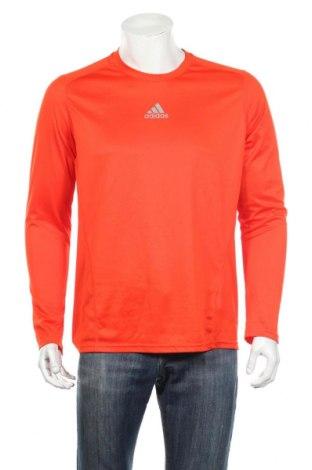 Pánske športové tričko  Adidas, Veľkosť L, Farba Oranžová, Polyester, Cena  21,12€