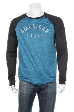 Pánske športové tričko  American Eagle, Veľkosť M, Farba Modrá, 86% polyester, 14% elastan, Cena  12,22€