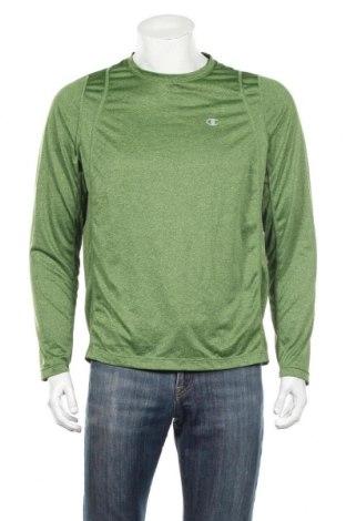 Pánske športové tričko  Champion, Veľkosť L, Farba Zelená, Polyester, Cena  11,91€